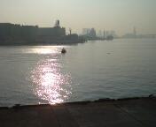 竹芝桟橋に到着