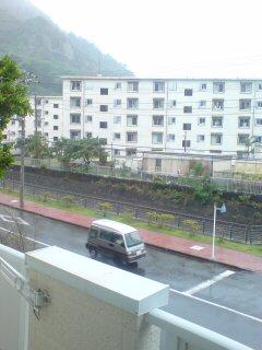 雨模様なう