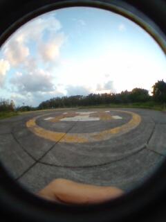 旧ヘリポート