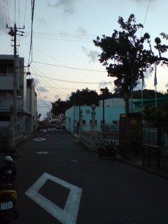 母島メインストリート