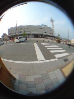 伊予西条駅で降りました