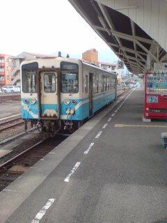 宇和島駅にて
