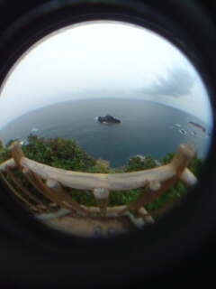 足摺岬からの眺め
