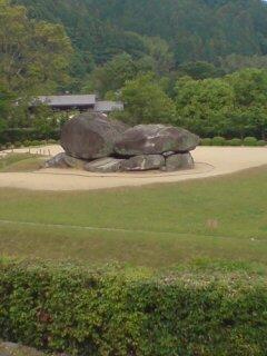 飛鳥の石舞台