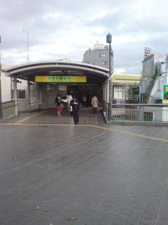 大泉学園駅に来ました
