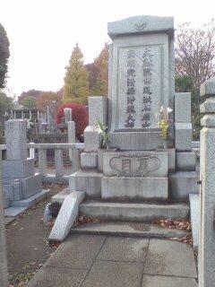 夏目漱石さんのお墓