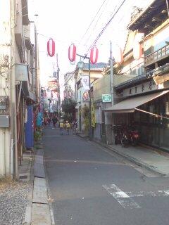 向島鳩の街商店街