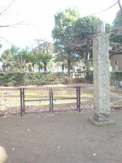谷中五重の塔跡