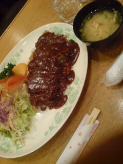 加古川駅前でカツメシ