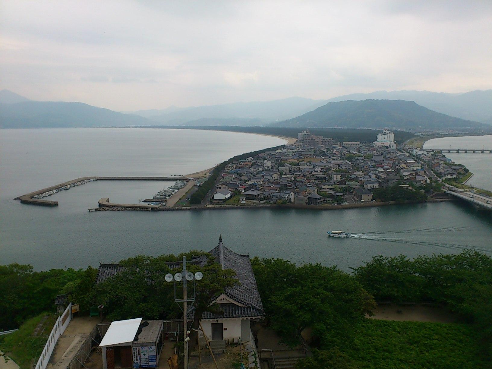 唐津城天守閣からの眺め