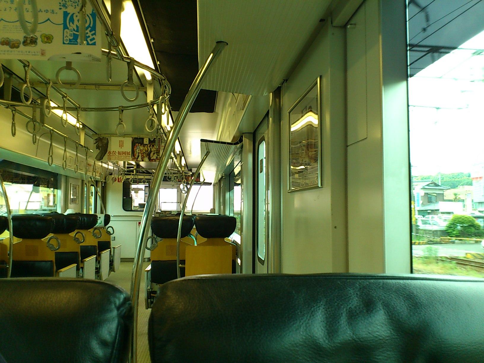 有田駅からJR<br />  佐世保線に乗り換え