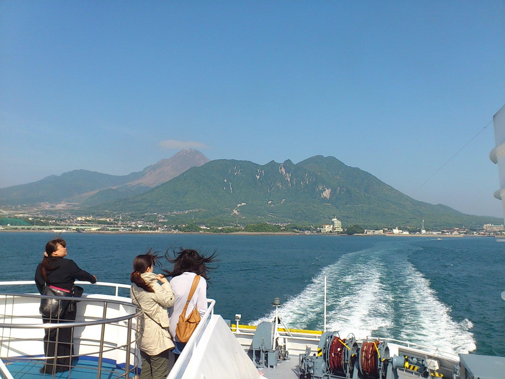 雲仙島原を離れます