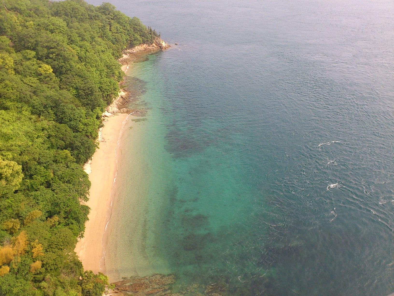 海がキレイ