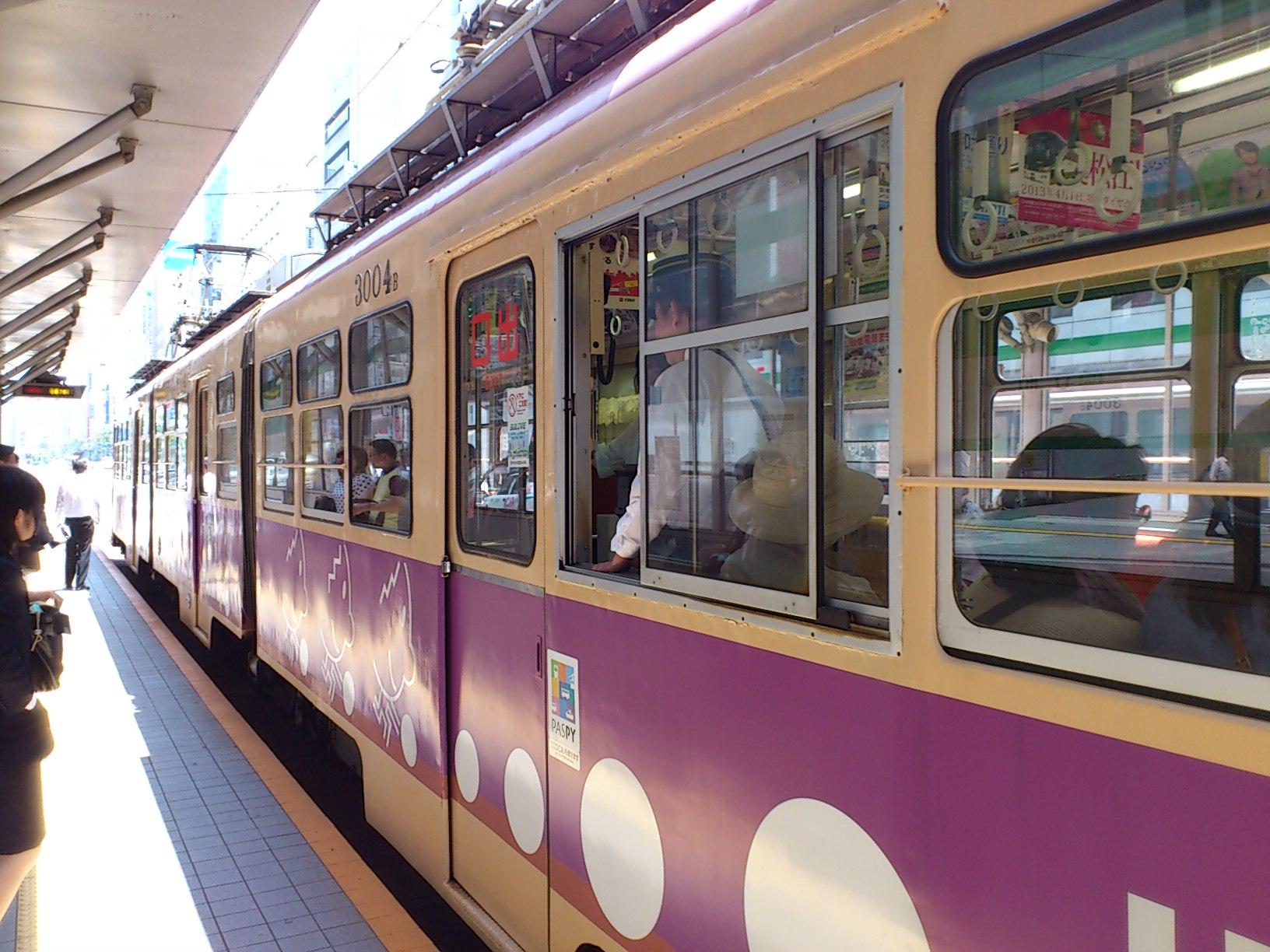 ティンティン電車