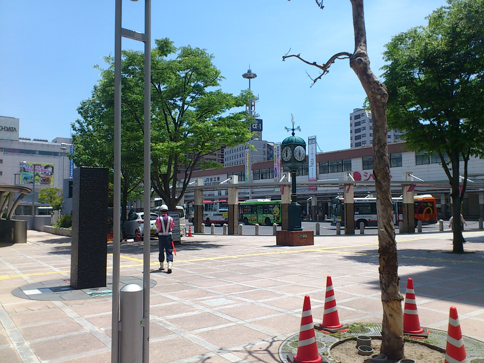 JR松江駅前