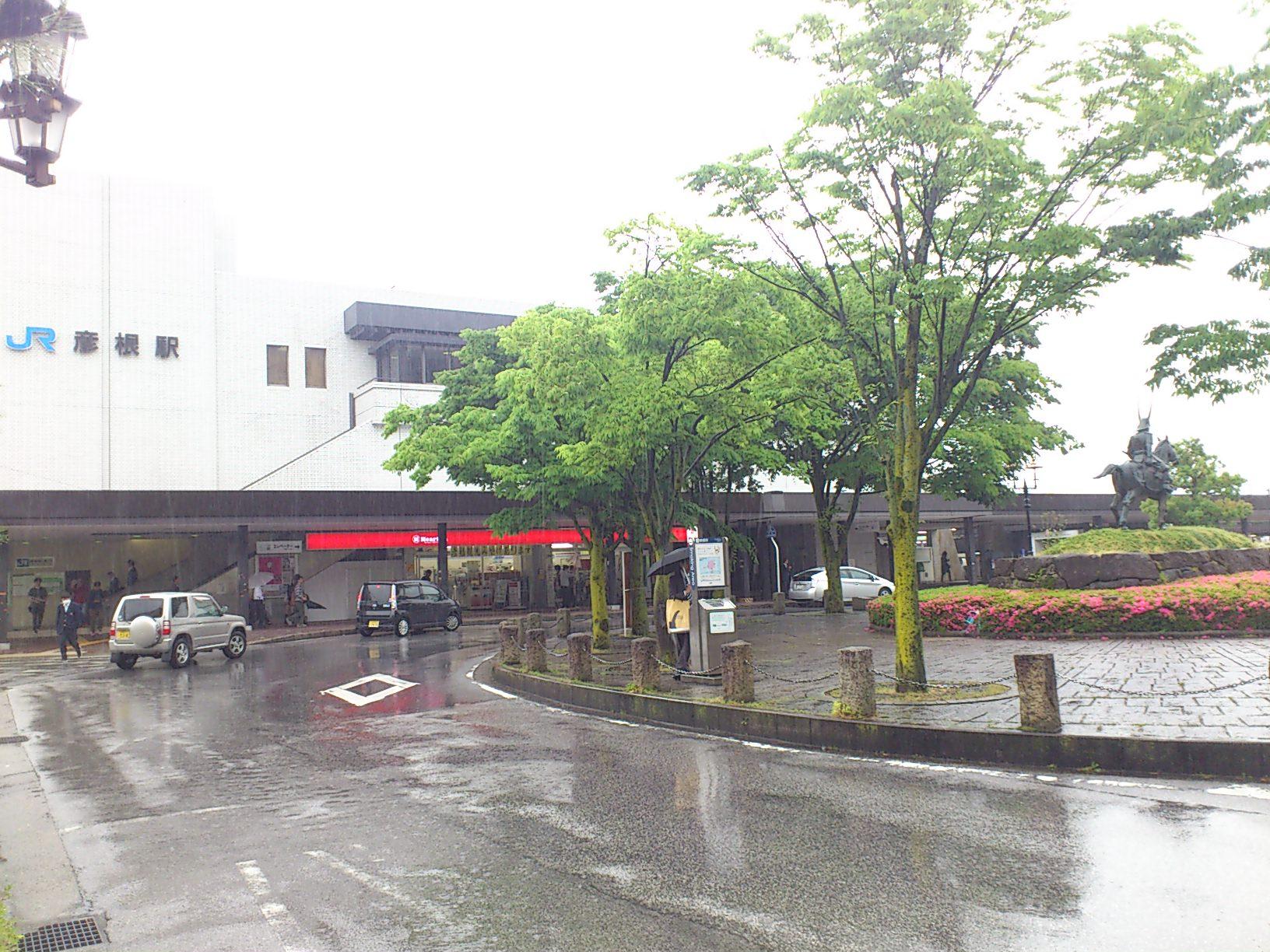 JR彦根駅前